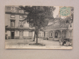 Ref2255 A CPA Animée De Salins Les Bains (Jura) - Etablissement Des Bains - Cliche Figuet, édit. GB, N°295 - Andere Gemeenten