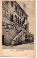 LONIGO-PALAZZO MUNICIPALE-30-9-1943-CARTOLINA ESPRESSI LIRE 1,15-EDIZ.CAV.LUCENTI - Vicenza