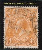AUSTRALIA   Scott  # 31  VF USED - Used Stamps