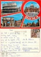 Vatican City Postcard Posted 1990 Stamp - Vatican