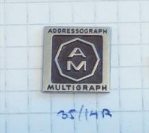 ADDRESSOGRAPH MULTIGRAPH - CHIKAGO Illinois (USA) PRINT MACHINE Printing, Typewriters / Impression - Trademarks