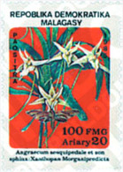 Ref. 100163 * MNH * - MADAGASCAR. 1985. ORCHIDS AND BUTTERFLIES . ORQUIDEAS Y MARIPOSAS - Madagascar (1960-...)