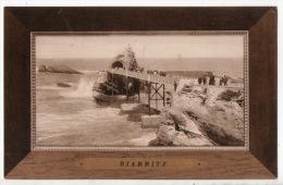 64 - BIARRITZ . LE ROCHER DE LA VIERGE - Réf. N°5384 - - Biarritz