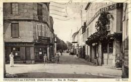 COULONGES-sur-l'AUTIZE  Rue De Fontenay - Coulonges-sur-l'Autize