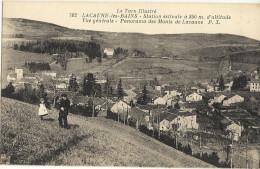 LACAUNE LES BAINS Station Estival à 850m D'altitude Vue Generale  66 - France