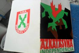 Askatasuna Independiencia Republica Vasca E M B - Libros, Revistas, Cómics