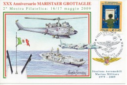 Cartolina Per Il 30° Anniversario Di Maristaer Grottaglie 2009 - Taranto