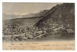 CPA PIONNIERE CHUR Ou COIRE (Suisse-Grisons) - Vue Générale - GR Grisons