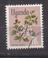 D0388 - OUGANDA UGANDA Yv N°90 FLEURS FLOWERS - Uganda (1962-...)