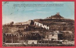 FORTIFICATIONS DE LA  MONTAGNE DE LA VIERGE  //  CACHET THIONVILLE  28/6/1930 - France