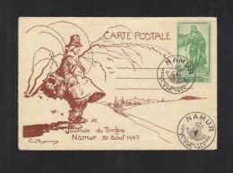 Carte Postale Namur Jurnee De Timbre 1947 - Belgien