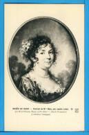 CP, 21, Musée De DIJON, Portrait De Mme Hoin Née Amélie Lefort Par Hoin Claude, Vierge - Dijon