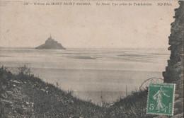 LE MONT ST MICHEL LE MONT VUE PRISE DE TOMBLAINE - Le Mont Saint Michel