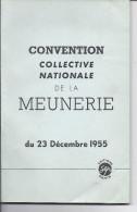 Livre Convention Collective MEUNERIE ( Syndicalisme CONSEIL DES PRUD'HOMMES De La Seine ) MOULIN Travail Femme Jeune Vrp - Droit