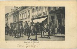 Péruwelz :   Souvenir De    (   1er Rt De Chasseurs A Cheval De Tournai )   (  Ecrit Avec Timbre 1904 ) - Péruwelz