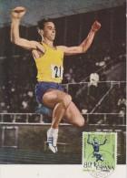 FDC ESPAGNE JEUX OLYMPIQUES  DE TOKYO 1964  ATHLETISME - Summer 1964: Tokyo