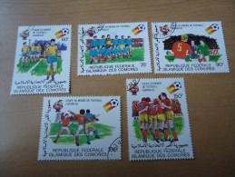 Komoren: 5 Werte Fußball-WM 1982 - Komoren (1975-...)