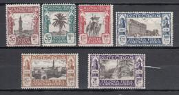 LIBIA LIBYA 1928 SECONDA FIERA MLH * NEUFS LIEVISSIMA TRACCIA DI LINGUELLA - Libyen