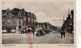 59 - VALENCIENNES - AVENUE DE SAINT AMAND - A LA MAISON COLOMBOPHILE - CAFE - Valenciennes