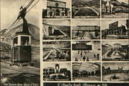 L'AQUILA VEDUTINA DELLO STADIO COMUNALE 1957 - L'Aquila