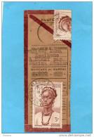 MARCOPHILIE-coupon Mandat 2000frs Acquitté- Cad-SOUDAN-MACINA- Mai 1949-affranchi - Sudan (1894-1902)