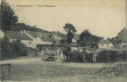Froidchapelle  :  Pont D'amaides  (  Attelage )  Ecrit 1920 Avec Timbre - Froidchapelle