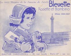 Catalogue Poupée Bleuette 1956 - Unclassified