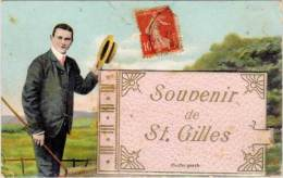 Système Villes/dépliant – Souvenir De St-Gilles (Gard) - Saint-Gilles