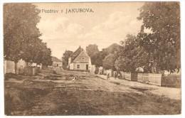 Pozdrav  Z  JAKUBOVA - Slovaquie