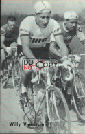 Carte Postale Cycliste Willy Vannitsen  - Lotto Photo  Déposé - Wielrennen - - Ciclismo