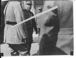 1915-1916 Le Général Joffre En Visite Sur Le Front Vosges Somme 1 Photo 1914-1918 14-18 Ww1 WwI Wk Poilus - War, Military