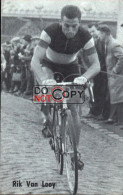 Carte Postale Cycliste Rik Van Looy     - Lotto Photo  Déposé -  Wielrennen - Ciclismo