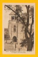 CPA  FRANCE  41  -  SAINT-AIGNAN-sur-CHER  -  49  Le Clocher De L'Eglise à Travers Les Arbres - Saint Aignan