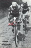 Carte Postale Cycliste Fédérico Bahamontés - Lotto Photo  Déposé - - Ciclismo
