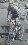 Carte Postale Cycliste Noël Foré - Lotto Photo  Déposé - - Ciclismo