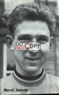 Carte Postale Cycliste Marcel Jannssens - Lotto Photo  Déposé - - Ciclismo