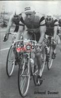 Carte Postale Cycliste Armand Desmet  - Lotto Photo  Déposé - - Ciclismo