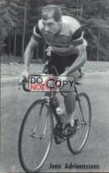 Carte Postale Cycliste Jean Adriaenssens - Lotto Photo  Déposé - - Ciclismo