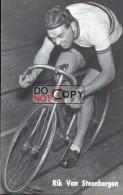 Carte Postale Cycliste Rik Van Steenbergen  - Lotto Photo  Déposé - Wielrennen - Piste - Ciclismo