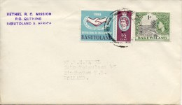 Cover Basutoland Met Adres - Basutoland (1933-1966)