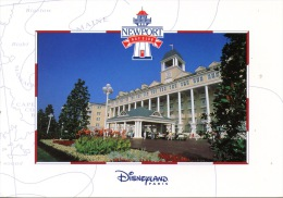 Marne La Vallée : Euro Disney (1994) Puis Disneyland Paris : Newport Bay Club Hotel Belle époque Nouvelle Angleterre - Disneyland
