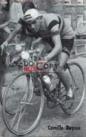 Carte Postale Cycliste Camille Buysse  - Lotto Photo  Déposé - - Ciclismo