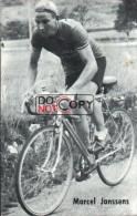 Carte Postale Cycliste Marcel Jannssens - Lotto Photo  Déposé - Wielrennen - Ciclismo