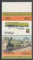 Tuvalu 1984 Mi 217 - 218  YT 227 - 228 ** Class C 38 4-6-2 New South Wales Government Railways (1943) Australia - Treinen