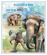 Guinea Bissau. 2013 Elephants. (705b) - Elephants