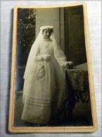 Photo  - Jeune Communiant - Communion -religion - Voir Costume1890-1904 N 3 - Personnes Anonymes