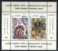 Turkey 1993. EUROPA CEPT Arts Sheet MNH (**) - 1993