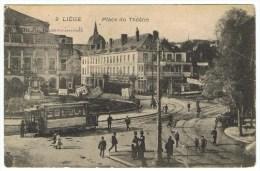 LIEGE Place Du Théatre - Liège