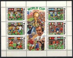 Tanzania 1994. Football / Soccer USA Sheet MNH (**) - World Cup
