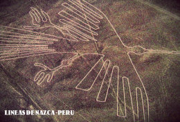 POSTAL LINEAS DE NAZCA 1 - Perú